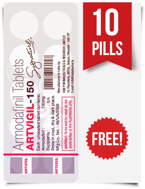 Artvigil Free Samples & Waklert Armodafinil Trial Pack
