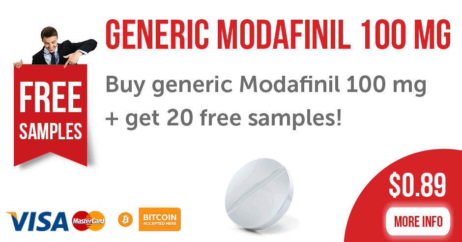 Modafinil 100 mg Tablets for the Best Price
