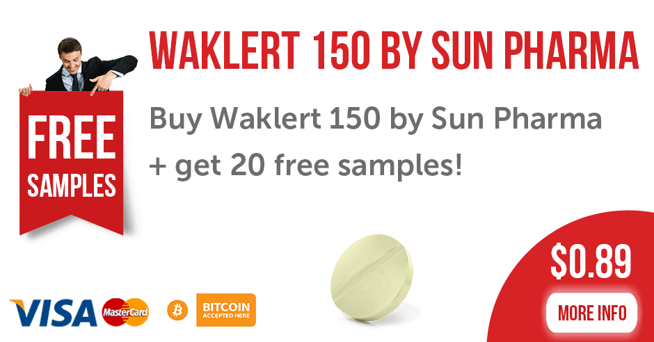 Buy Waklert 150 mg Tablets by Sun Pharma Online