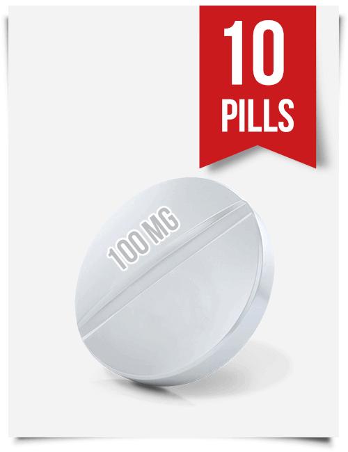 Generic Modafinil 100 mg x 10 Tablets