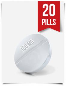 Generic Modafinil 100 mg x 20 Tablets