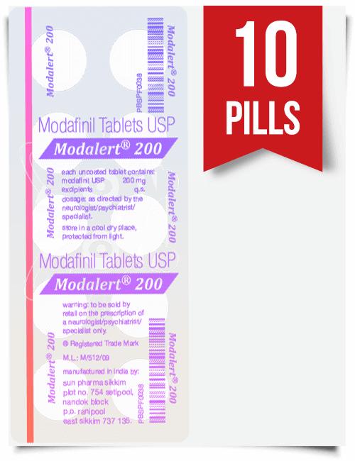 Modalert 200 mg x 10 Pills