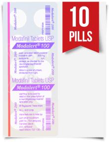 Modalert 100 mg x 10 Tablets