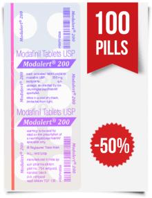 Modalert 200 mg x 100 Pills