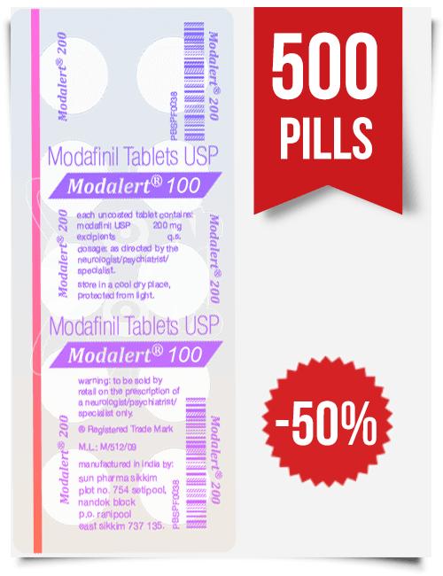 Modalert 100 mg x 500 Tablets