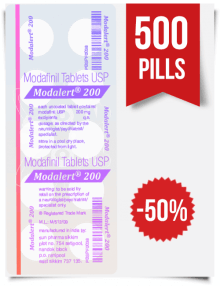 Modalert 200 mg x 500 Pills