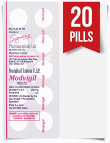 Modvigil 200 mg x 20 Pills