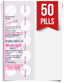 Modvigil 200 mg x 50 Pills