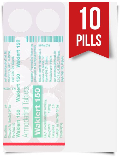 Waklert 150 mg x 10 Tablets