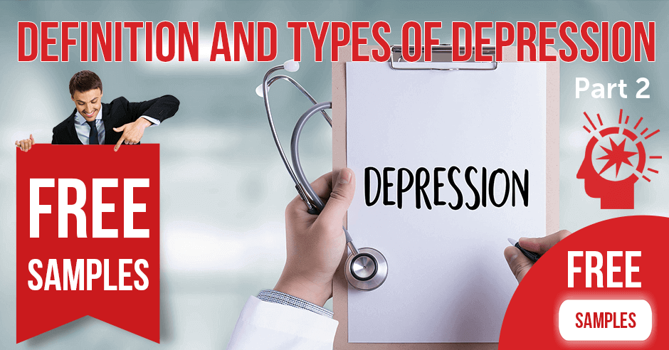 Definition and Types of Depression Part 2