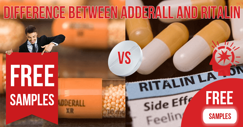 Difference Between Adderall and Ritalin