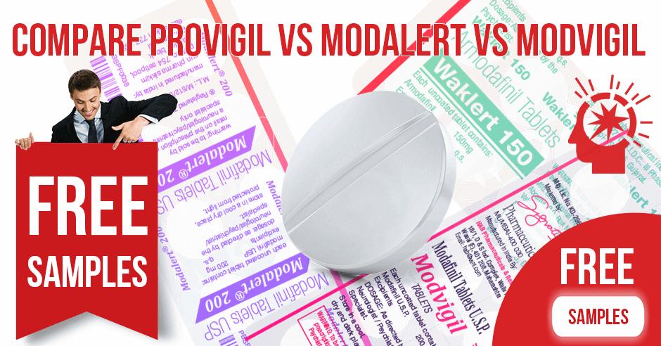 Compare Provigil vs Modalert vs Modvigil
