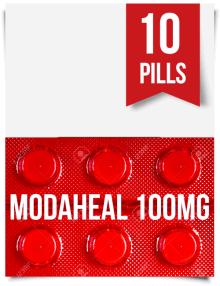 Modaheal 100 mg x 10 Tablets