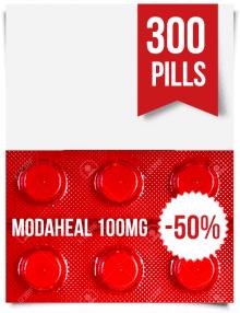 Modaheal 100 mg x 300 Tablets