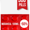Modaheal 100 mg x 500 Tablets
