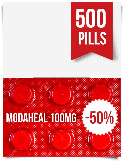 Modaheal 100 mg x 500 Tablets