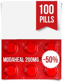 Modaheal 200 mg 100 Pills Online