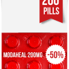 Modaheal 200 mg x 200 Tablets