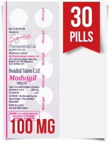 Modvigil 100 mg x 30 Modafinil Pills