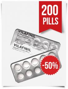 Vilafinil 200mg x 200 Modafinil Tablets by Centurion