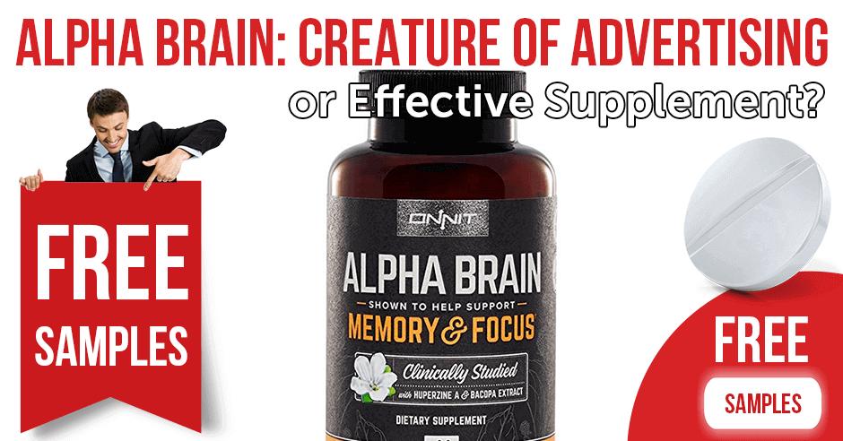 Alpha Brain: creature of advertising or effective supplement?