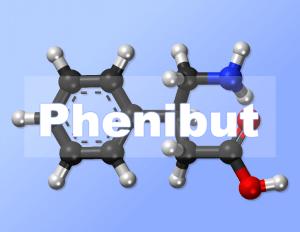 Phenibut molecule