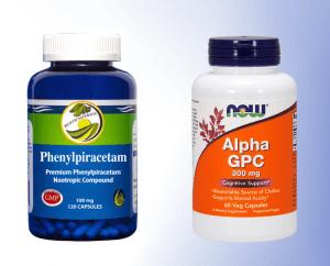 Phenylpiracetam and Alpha GPC