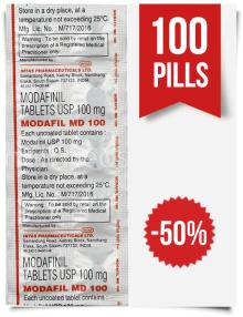 Order Modafil MD 100mg Indian Modafinil 100 Tabs at ModafinilXL Pharmacy Online