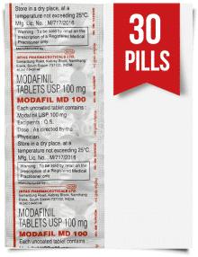 Order Modafil MD 100mg Indian Modafinil 30 Tabs at ModafinilXL Pharmacy Online
