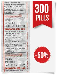Order Modafil MD 100mg Indian Modafinil 300 Tabs at ModafinilXL Pharmacy Online