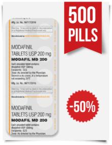 Buy Sublingual Modafil MD 200 mg 500 Pills