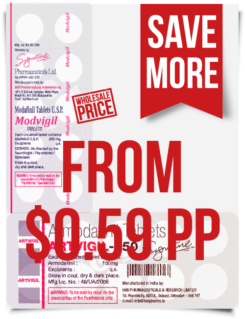 Artvigil Modvigil Best Price $0.59