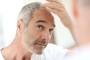 Hair growth in men