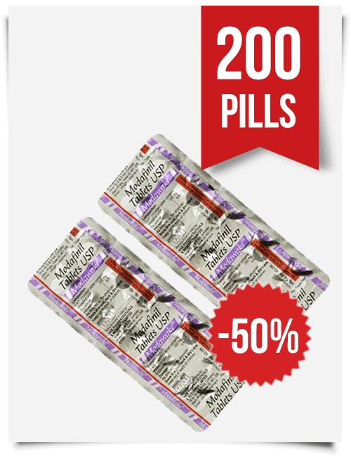 Modawake 200mg x 200 Modafinil Pills
