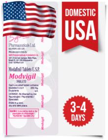 Modvigil Modafinil Domestic USA Delivery